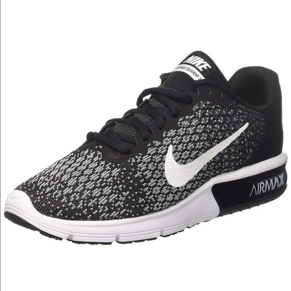 new style 56068 74433 Nike Shoes | New Nib Womens Air Max Sequent 2 Black | Poshmark